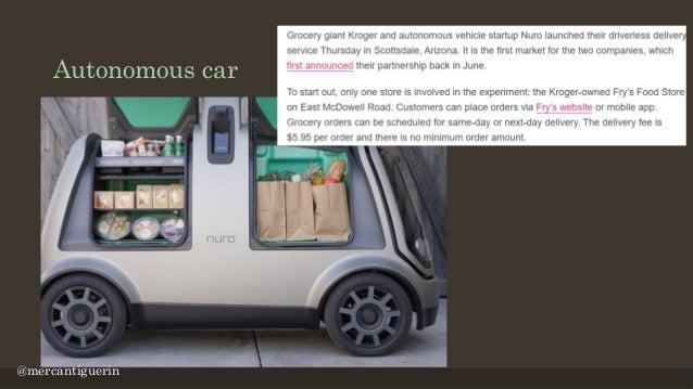 Dash Robotic Shopping Cart https://www.usine-digitale.fr/article/video-un-robot-chariot-vous-suivra-t-il-bientot-a-la-trac...