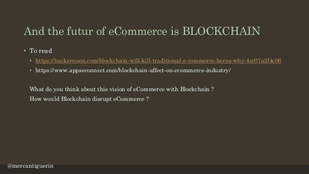 E commerce, the big challenge