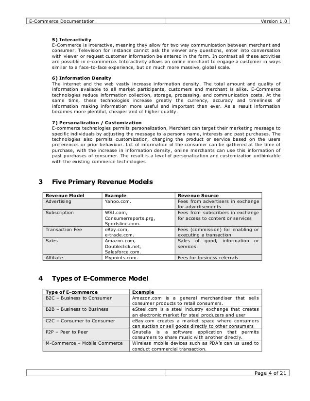 Thesis on b2b ecommerce