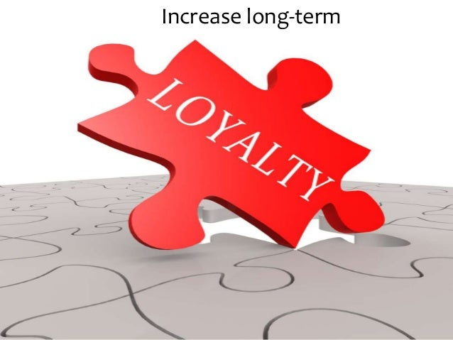 Increase long-term