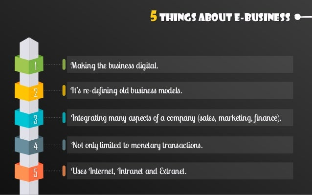 Comparison E-Commerce E-Business 05 Approach Extroverted Ambiverted