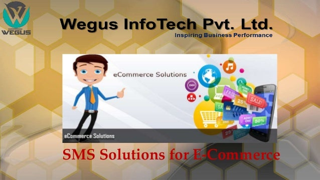 SMS Solutions for E-Commerce