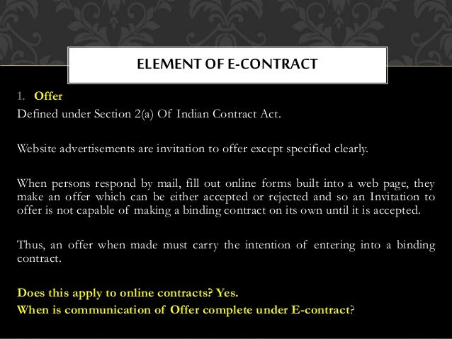E contract 9 1 offer stopboris Image collections