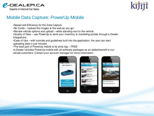 E Dealer Sell More Cars With Kijiji Spring 2013 Ad Update