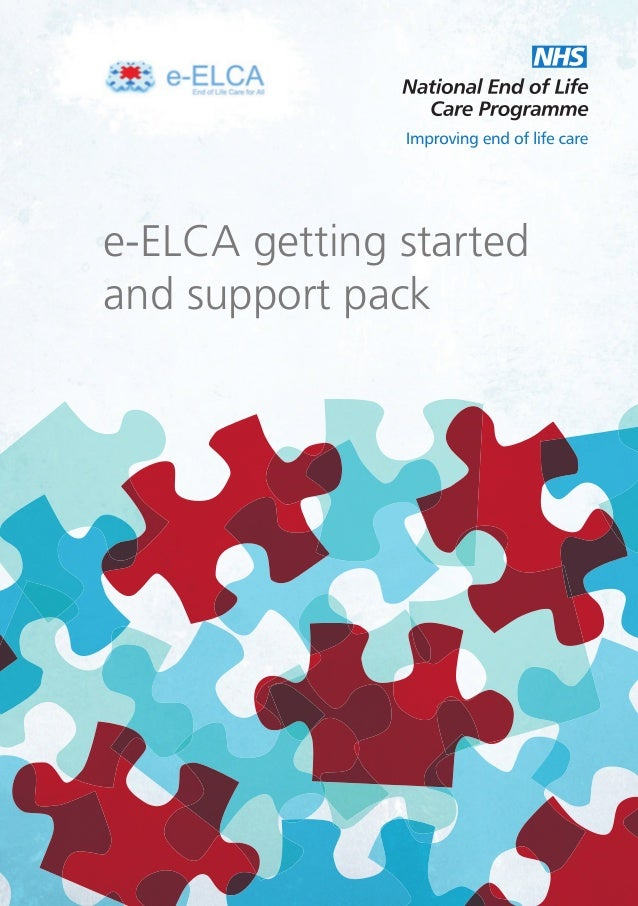 e-ELCA getting started and support pack