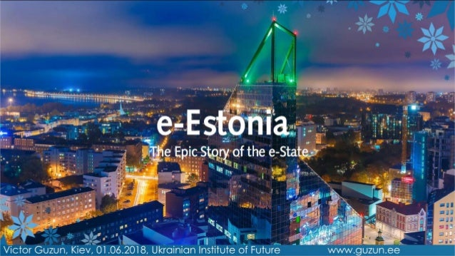 enter e-Estonia the coolest digital society