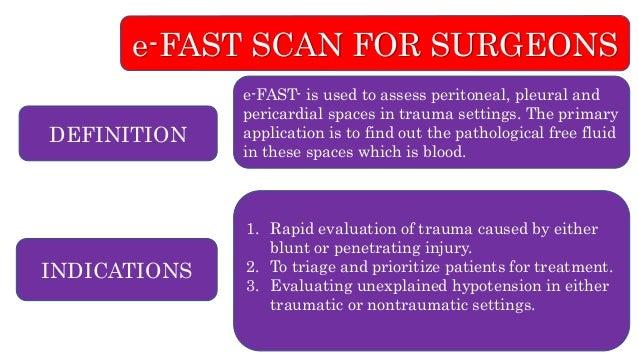 E fast scan for surgeons- skill lab procedure- osce - copy Slide 2