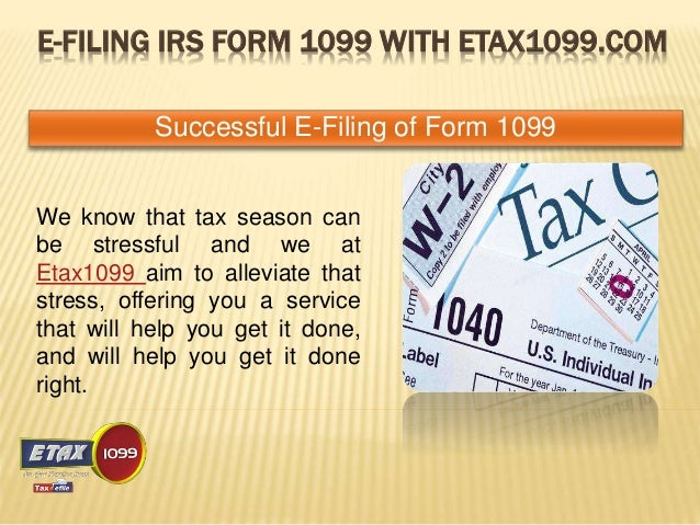 E File Form 1099 With Etax1099 For The Year 2014
