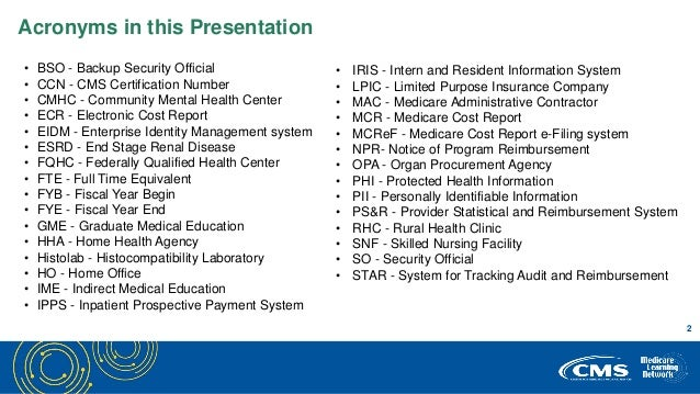 MCReF - CMS May 1 Webcast