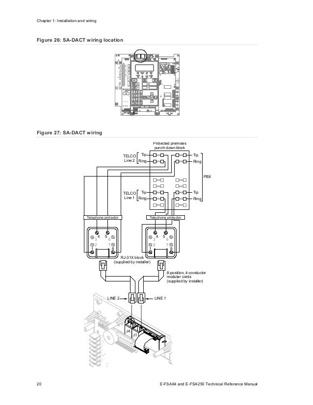 Edwards Signaling E-FSA250R Installation Manual