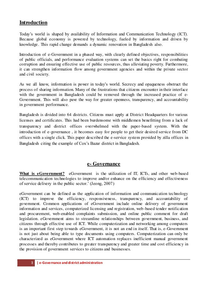 case study e governance United nations department of social and economic affairs.