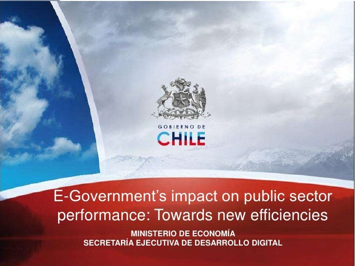 impact of e government on public Impact of e-governance on public sector services e-government is the online delivery of local the latest impact of technology has been observed on government.