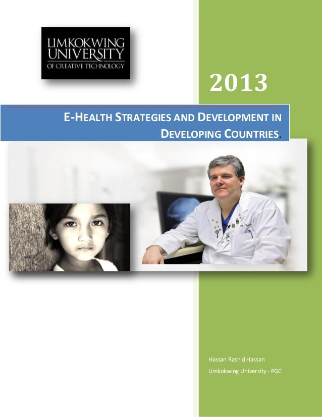 2013Hassan Rashid HassanLimkokwing University - PGCE-HEALTH STRATEGIES AND DEVELOPMENT INDEVELOPING COUNTRIES.