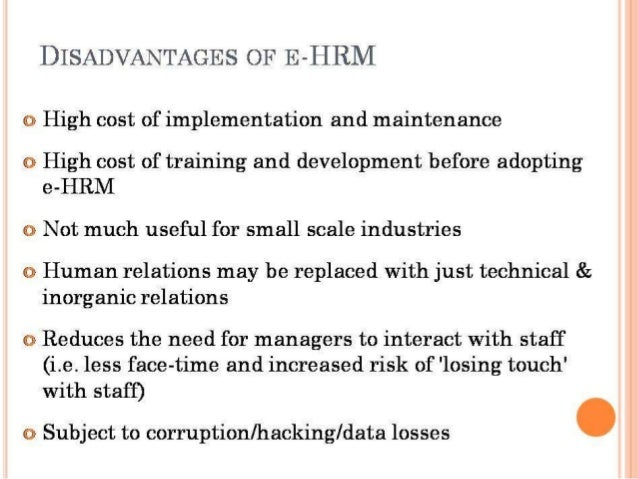 e hrm An evidence-based review of e-hrm and strategic human re-source management janet h marler, university at albany-state university of new york, usa marler@albanyedu.