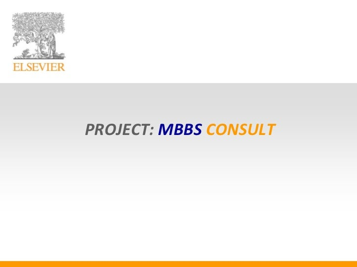 PROJECT: MBBS CONSULT