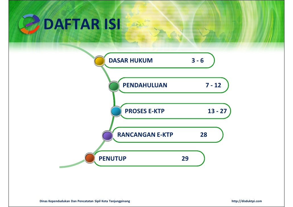 DAFTAR ISI                                            DASAR HUKUM                   3-6                                   ...