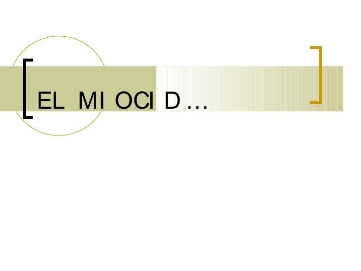EL MIO CID…