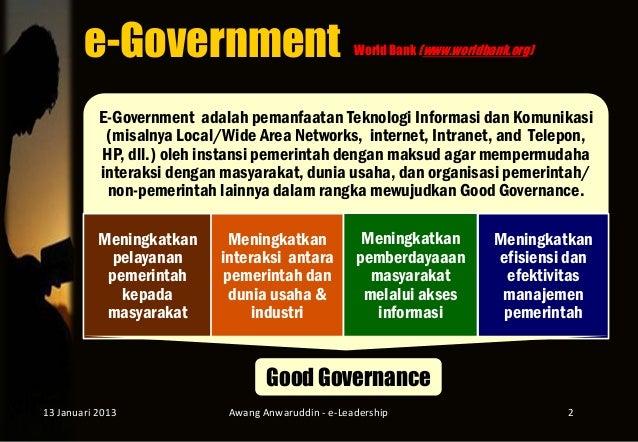 E-LEADERSHIP DI INDONESIA Slide 2