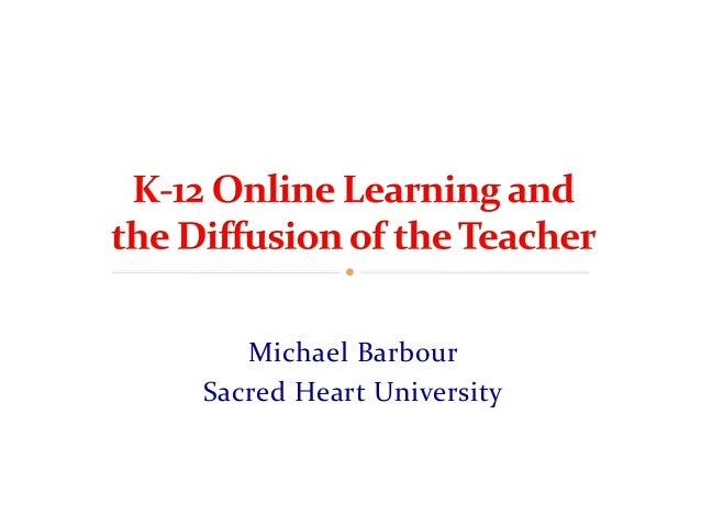 Michael Barbour Sacred Heart University