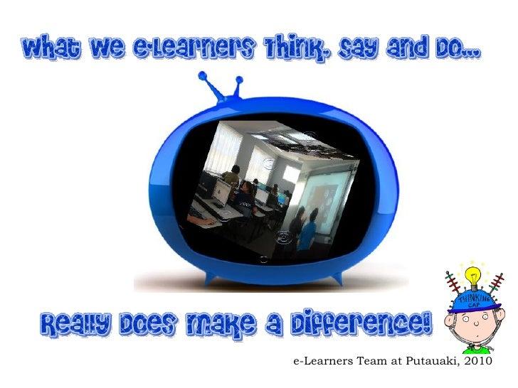 e-Learners Team at Putauaki, 2010