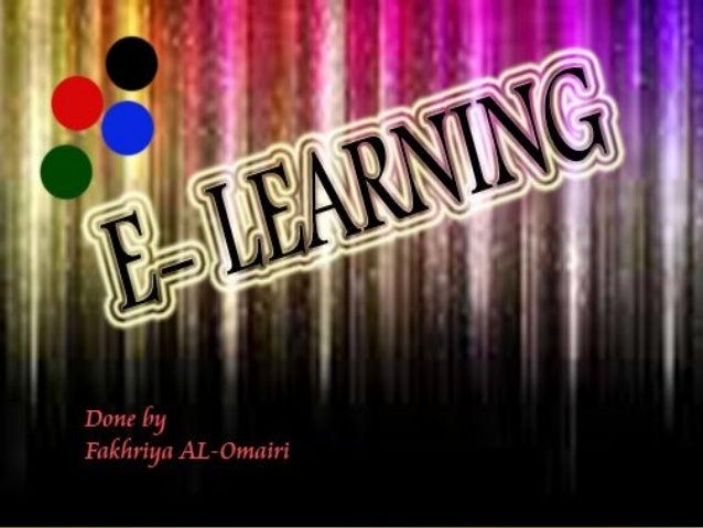 will know all features of e-learning will know the way of working in e-learning will be able to register in e-learning S T...