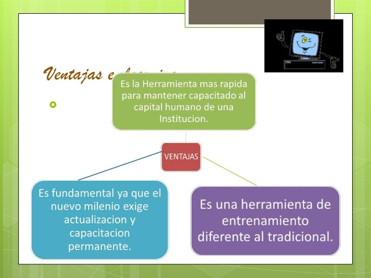 Ventajas e-learning<br />