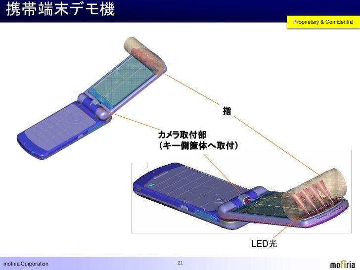 最先端の指静脈認証技術『mofiria』 -Finger Vein Authentication Technology -Mofiria-