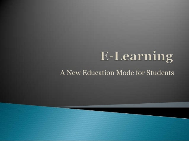 A New Education Mode for Students