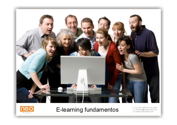 E-learning fundamentos