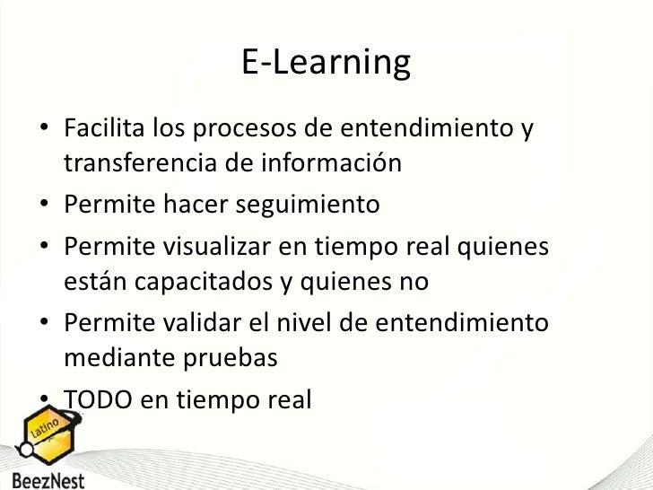 Facilita los procesos de entendimiento y transferencia de información<br />Permite hacer seguimiento <br />Permite visuali...
