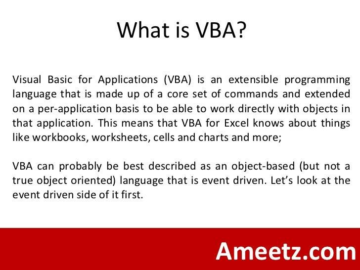 Excel 2007 Vba Programming For Dummies Ebook