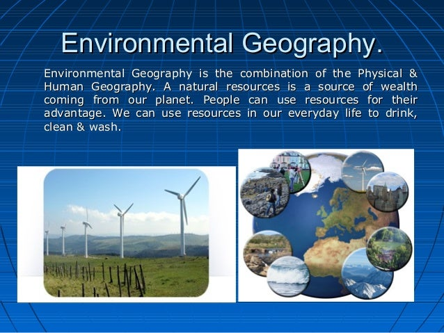 Natural Resources Meaning
