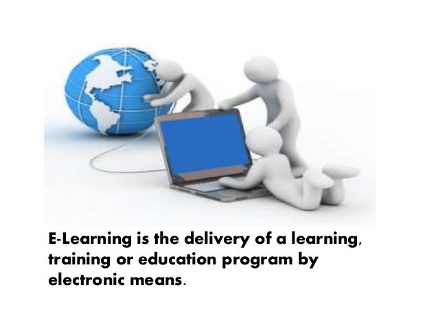 E learning powerpoint presentation.