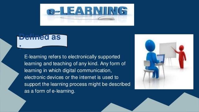E-Learning and Mobile Learning Slide 3