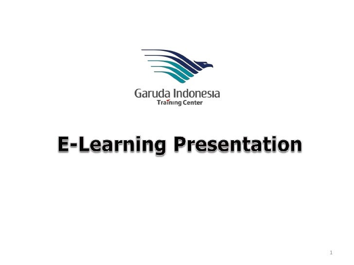 E-Learning Presentation<br />1<br />