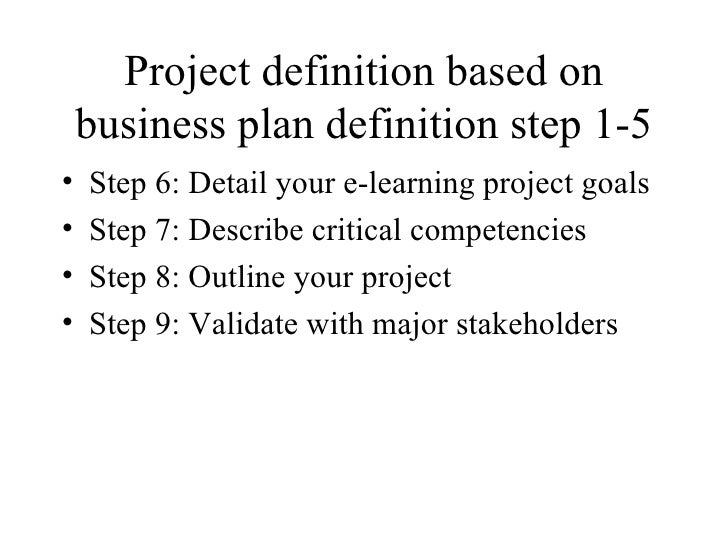 Complete Business plan for and e-learning startup