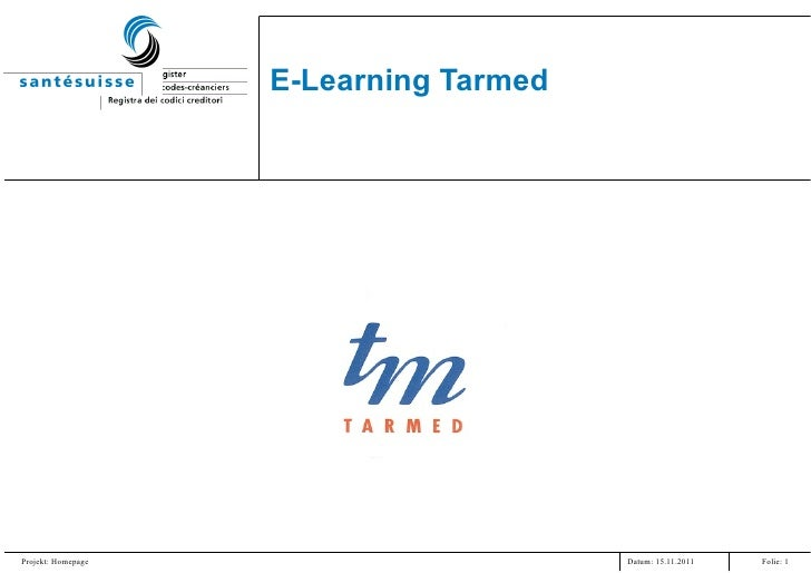 E-Learning Tarmed