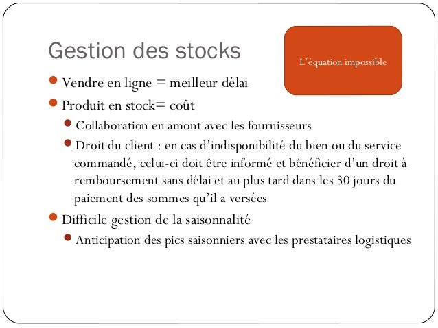 Entrepôt ou plate-forme Entrepôt : stock Plate-forme : cross docking Consolidation des flux en provenance de différents...
