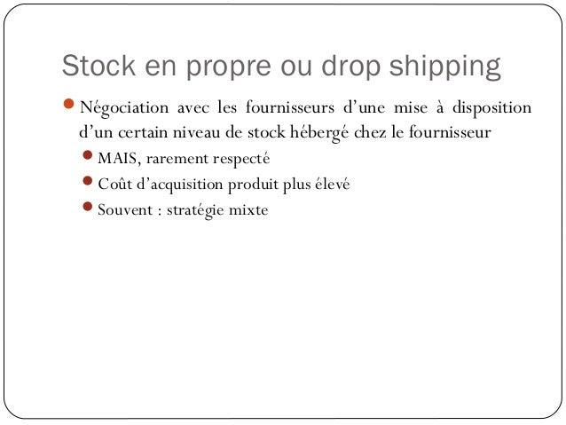 Préparation de la commande Le picking Commande comportant plusieurs produits (ventes croisées) Optimiser le coût de trai...