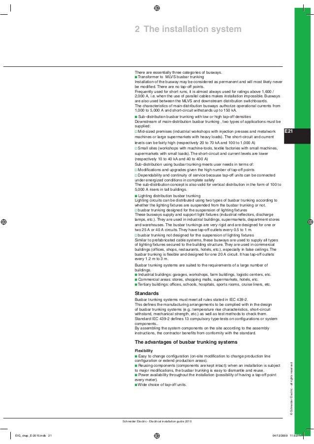 e lv distribution 2 schneider electric guide de l'installation électrique 2009.pdf Life Is On Schneider Electric