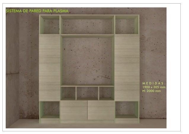 SISTEMAS DE PARED PARA PLASMA Slide 3