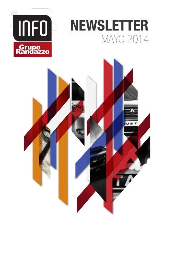 NEWSLETTER MAYO 2014