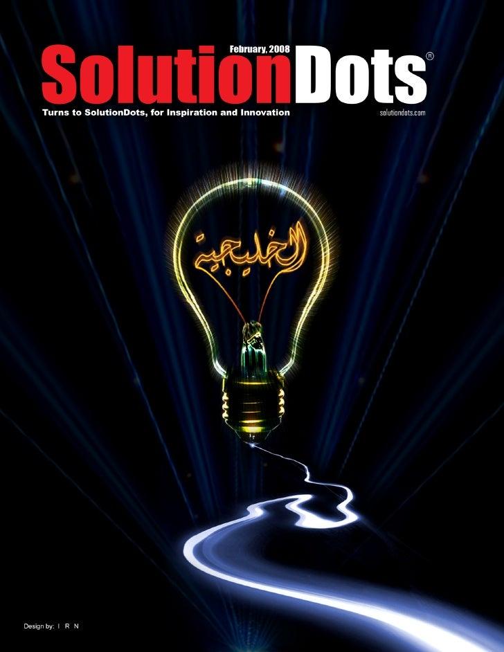 E Magazine Solutiondots Specialized In Graphic Arts Feb 2008