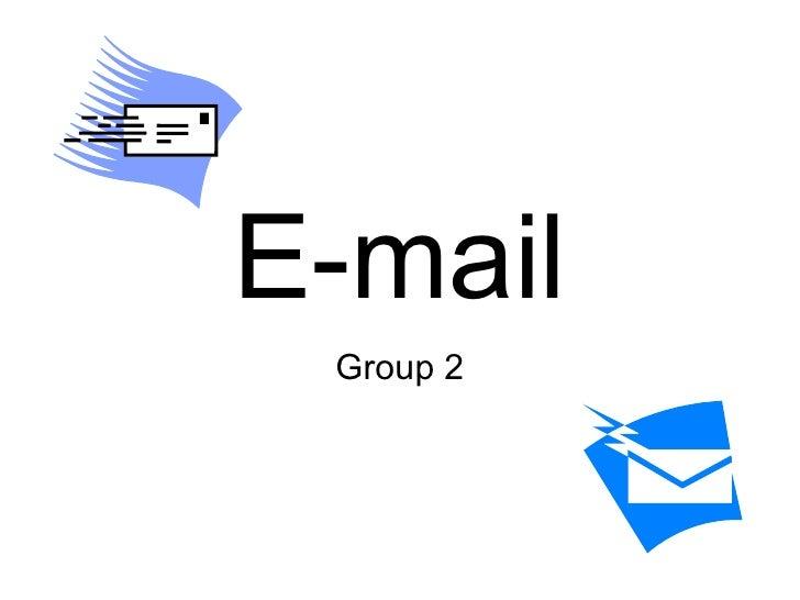 E-mail Group 2