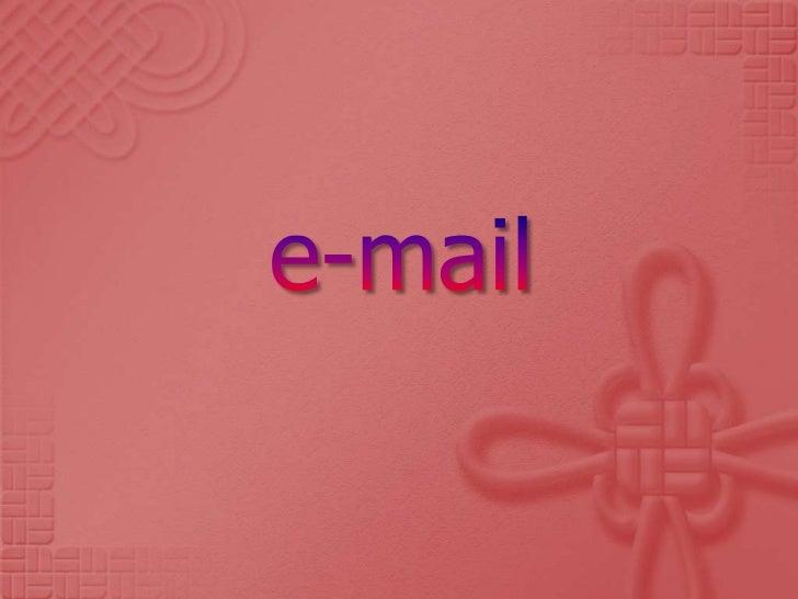 e-mail<br />