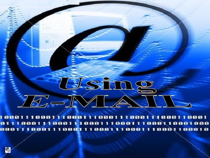 Using E-MAIL