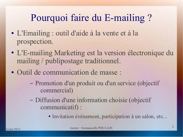 E mailing Slide 2