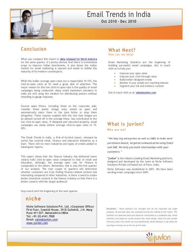 E mail marketing trends statistics report