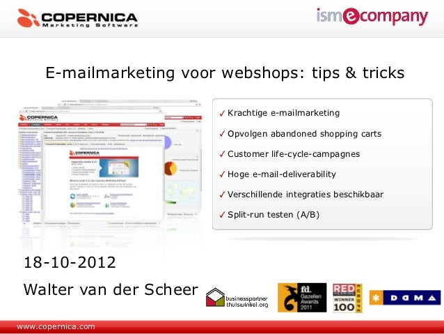 E-mailmarketing voor webshops: tips & tricks                            Krachtige e-mailmarketing                         ...