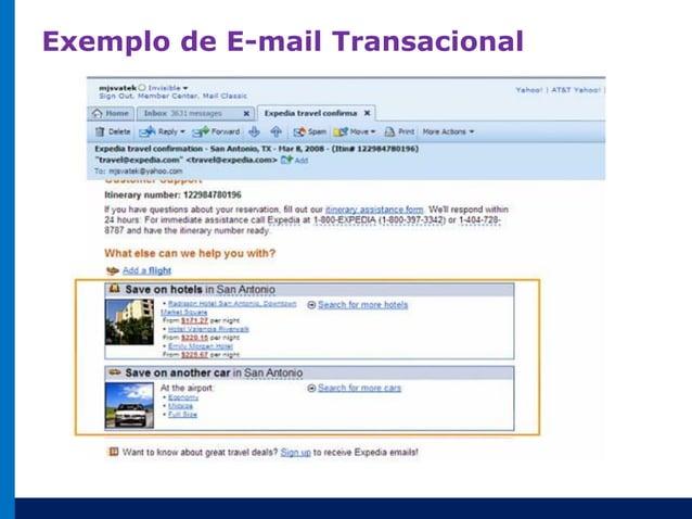 Email Marketing Transacional